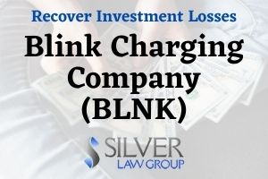 Blink Charging Company (BLNK) is the subject of a class action lawsuit that has been filed on behalf of investors, alleging securities fraud. Investors may have claims to recover losses. If you have losses from investing in Blink Charging Company (BLNK) stock, contact Silver Law Group for a no-cost consultation toll free at (800) 975-4345 or by email at ssilver@silverlaw.com. Blink is in the business of electric vehicle charging equipment and services. The complaint for the class action lawsuit alleges that Blink misrepresented and concealed: That many of the company's electric vehicle (EV) charging stations are damaged, non-functional, or inaccessible. That Blink overstated its partnerships and expansions with other companies. That the growth of the company was overstated.