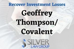 On September 3, 2020, the Unites States Securities and Exchange Commission (SEC) commenced a civil action against Illinois resident Geoffrey Thompson. According to the SEC's Complaint, from July 2014 through June 2019, an entity founded and controlled by Thompson, Covalent Collective, Inc., offered several different types of investments to approximately 500 investors, raising more than $19 million. According to the SEC's Complaint, Geoffrey Thompson and Covalent used a variety of methods to solicit investors, including the use of unregistered broker-dealers, press releases, an investor relations firm, a public website, and a call center operated by Thompson's company, Fortress Legacy. The SEC lists the following fraudulent offerings as part of its new lawsuit:  Advantameds Convertible Promissory Notes Covalent Warrants Covalent Common Stock Covalent Promissory Notes