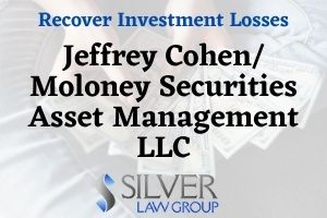 "Jeffrey Cohen (CRD: #2528929) is a registered broker and investment advisor currently employed by Moloney Securities Asset Management LLC (CRD#:282448) of Henderson, NV. His previous employers include Moloney Investment Advisory LLC (CRD#:282140) of Laguna Miguel, CA, Moloney Securities Co., Inc. (CRD#:38535) also of Henderson, and Western International Securities, Inc. (CRD#:39262), of Westlake Village, CA. He has been in the industry since 1994. Cohen is the subject of seven disclosures, six of which were filed in the last year. From 8/23/2019 through 7/13/2020, these disputes all allege ""unsuitability"" and unsuitable recommendations of ""alternative investments"" in their claims against Cohen. The combined claims total $7,200,000. None of the claims contain a rebuttal statement from Cohen."