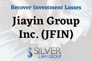 Silver Law Group is investigating Jiayin Group Inc. (JFIN) on behalf of investors in the company regarding whether the company and its officers or directors engaged in securities fraud. If you have losses from investing in Jiayin Group Inc. (JFIN) stock, contact Silver Law Group for a no-cost consultation at (800) 975-4345 or by email at ssilver@silverlaw.com. Jiayin Group Inc. (JFIN), a Chinese company founded in 2011, operates an online financial marketplace that connects borrowers and investors.