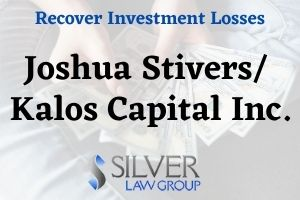 Joshua Stivers (Joshua Daniel Stivers CRD:#5708565) is a currently registered broker and investment advisor currently employed with Kalos Capital, Inc. (CRD#: 44337) of Austin, TX. His previous employers include G.F. Investment Services, LLC (CRD#:132939) and Global Financial Private Capital, LLC (CRD#:132070), both of Austin, TX, and USA Wealth Management LLC (CRD#:122082) of Marble Falls, TX. He has been in the industry since 2009.