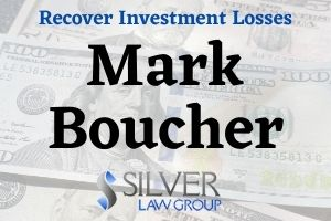 Mark Boucher (Mark Joseph Boucher CRD#: 2187695) is a former registered broker and currently registered investment advisor currently registered with his own company, Strategic Wealth Advisor Group Services (SWAG) of Carlsbad, CA. Boucher is SWAG's only employee. He provided investment advice to 50 clients, managing more than $12M in client funds. His most recent employer was SCF Investment Advisors, Inc. (CRD: 123608) of Fresno, Ca. Previous employers include Raymond James Financial Services, Inc. (CRD#:6694) of Carlsbad, CA, Linsco/Private Ledger Corp. (CRD#:6413) of Fort Mill, SC, and NYLIFE Securities Inc. (CRD#:5167) of New York, NY.