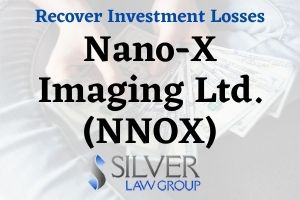 "Silver Law Group is investigating Nano-X Imaging Ltd. (NNOX) on behalf of investors in the company. The investigation concerns whether the company violated federal securities laws. If you have information relating to this investigation and/or investment losses with Nano-X Imaging Ltd. (NNOX), contact Silver Law Group for a no cost consultation at (800) 975-4345 or by email at ssilver@silverlaw.com. Nano-X Imaging Ltd. (NNOX) is a company based in Israel that develops and produces X-ray technology for medical imaging. On September 15, 2020, Citron Research released a report with the title ""Nano-X (NNOX) A Complete Farce on the Market."" The Citron report described problems with the company, and stated that ""this $3 billion company is nothing more than a science project with a simple rendering minimal  R&D, fake customers, no FDA approval, and fraudulent claims that are beyond the realm of possibility."""