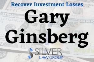Gary Ginsberg (Gary David Ginsberg, CRD# 1175258) is a currently registered broker working for Ameriprise Financial Services (CRD# 6363) in New Jersey. Before working at Ameriprise, Ginsberg worked for Royal Alliance Associates (CRD# 23131) from 1992 to 2020. Gary Ginsberg has sold his customers private placement investments in GPB Capital, which has been accused of being a Ponzi Scheme.  Silver Law Group represents investors in claims to recover GPB investment losses. Contact us today at (800) 975-4345 for a no-cost consultation.  GPB Capital Investments Don't Perform For Investors  GPB Capital Holdings is an alternative asset management company founded in 2013 by Scientologist David Gentile. The company raised $1.8 billion by having broker-dealers across the country sell private placement investments to retail investors.  GPB said it would deliver returns to investors by buying and managing income producing companies such as car dealerships and garbage companies. The investment was illiquid, meaning it couldn't be sold, but investors were drawn to the high dividends.  Owning GPB has not gone the way investors had hoped. The attractive dividend is no longer being paid. The company is being sued by a former business partner and investors, and investigated by FINRA, the SEC, and the New York Business Integrity Commission. In November, 2019, GPB's Chief Compliance Officer and Managing Director was criminally indicted for obstruction of justice.