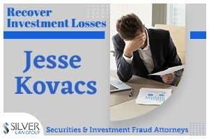 Jesse Kovacs (Jesse Todd Kovacs CRD# 5047161) is a currently suspended broker who last worked for PTS Brokerage, LLC in their Forked River, New Jersey branch office. Kovacs was suspended for participating in a private securities transaction (selling away) without giving advance written notice to his firm. Jesse Kovacs Disclosures Jesse Kovacs has been in the securities industry since 2006. Before joining PTS Brokerage in 2019, Kovacs worked for The O.N. Equity Sales Company, Hornor, Townsend & Kent, Inc., and other broker-dealers. Kovacs has 6 disclosures on his publicly-available FINRA BrokerCheck report: