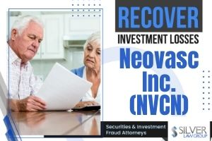 A class action lawsuit has been filed against Neovasc Inc. (NVCN), a Canadian biotech company, regarding potential violations of federal securities laws.  If you have losses from investing in Neovasc Inc. (NVCN) during the class period between November 1, 2019 and October 27, 2020, contact Silver Law Group for a no-cost consultation at (800) 975-4345 or by email at ssilver@silverlaw.com.  The deadline to apply to be lead plaintiff is January 5, 2021. A class has not been certified in this case. You are not represented by an attorney until certification occurs.  Neovasc Reducer   Neovasc Inc. (NVCN) is a specialty medical device company that creates cardiovascular devices for the domestic and international market. Neovasc's products include the Neovasc Reducer, which is under review by the U.S. Food and Drug Administration (FDA) for treatment of patients with refractory angina pectoris.