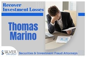 "Thomas Marino (Thomas John Marino CRD#: 4438533) is a former registered broker and investment advisor whose most recent employer was R.M. Stark & Co., Inc. (CRD#:7612) of Lake Worth Beach, FL. Previous employers include J.W. Cole Financial, Inc. (CRD#:124583) of Sarasota, FL, Newbridge Securities Corporation (CRD#:104065) of Boca Raton, FL, and Summit Brokerage Services, Inc. (CRD#:34643) of West Palm Beach, FL. He has been in the industry since 2001. Thomas Marino Customer Dispute On 4/12/2019, a customer filed a dispute alleging that Marino made ""inappropriate and unsuitable investments for her risk tolerance.""  The client requested damages of $300,000, and the claim is reported as resolved. According to filings in the case, The causes of action relate to Respondent Marino's alleged recommendation to transfer a portion of Claimant's retirement assets from various variable annuities and to re-direct the investment proceeds into investments with Respondent Capstone, a single-member Limited Liability Company, owned and controlled by Respondent Marino. A financial advisor generally should not recommend an investment in a company in which he is personally invested. Mr. Marino's interest in Capstone would need to be clearly explained to the investor and fully disclosed to his employer and the customer."