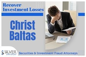 Christ Baltas (Christ Elias Baltas CRD: 2570499) is a former registered broker whose last known employer was Worden Capital Management LLC (CRD#:148366) of Melville, NY. His previous employers include Wilmington Capital Securities, LLC (CRD#:133839) also of Melville, Kovack Securities Inc. (CRD#:44848) of Fort Lauderdale FL, and Quest Capital Strategies, Inc. (CRD#:16783) of Laguna Hills, CA. He has been in the industry since 1995.  In August of 2020, FINRA sent Baltas a notice to appear for on-the-record testimony in relation to its investigation of his supervision of a registered representative. This representative had made trading recommendations that were potentially unsuitable while Baltas was a supervisor. Although Baltas acknowledged receipt of FINRA's notice, he notified staff that he would not be appearing for testimony at any time.