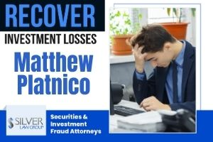 "Broker Matthew Platnico (Matthew Eric Platnico CRD:#2102086) is a registered broker and investment advisor currently employed with Allied Millennial Partners, LLC (CRD#: 16569) of New York, NY. As an investment advisor he is registered with Millennial Advisers, LLC. (CRD#:170847), also of New York City.  His previous employers include Arete Wealth Management, LLC (CRD#:44856), Oppenheimer & Co. INC. (CRD#:249), also of New York City, and Advest, Inc. (CRD#:10), of Hartford, CT. He has been in the industry since 1991.  A client filed a dispute on 7/15/2020, alleging that Platnico representative engaged in unsuitable and unauthorized options trading in Claimant's account. The client requests damages of $1,460,000.00. The case is currently ""pending."""