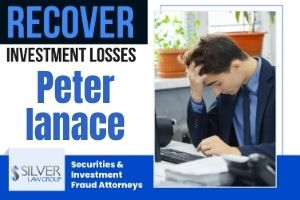 """Peter Ianace (Peter Vincent Ianace CRD#: 3238078) is a formerly registered broker and investment advisor whose last known employer was Wells Fargo Clearing Services, LLC (CRD#:19616) of Plano, TX. His previous employers include Merrill Lynch, Pierce, Fenner & Smith Incorporated (CRD#:7691) of Frisco, TX, Morgan Stanley Smith Barney (CRD#:149777) and Morgan Stanley & Co. Incorporated (CRD#:8209), both of Plano, TX. He has been in the industry since 1999. Ianace is the subject of two current customer disputes, filed on 8/7/2020 and 8/24/2020, with similar allegations of unsuitable recommendations. One client also alleges that Ianace """"neglected to reduce the over-concentrated and over-leveraged nature of their accounts."""" Both disputes are currently listed as """"pending."""" FINRA began an investigation into Ianace's business activities outside of his firm after he failed to report them. Ianace initially cooperated with the investigation, but stopped in August of 2020. After declaring to FINRA staff that he would not provide any further assistance or documentation, FINRA issued an Acceptance, Waiver & Consent (AWC) which Ianace signed."""
