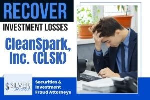 CleanSpark, Inc. (CLSK) is the subject of a class action lawsuit filed on behalf of shareholders. The class action lawsuit concerns alleged violations of federal securities laws and seeks to recover damages for investors. If you have losses from investing in CleanSpark, Inc. (CLSK) during the class period between December 31, 2020 and January 14, 2021, contact Silver Law Group for a no-cost consultation at (800) 975-4345 or at ssilver@silverlaw.com. Allegations In The Class Action The class action complaint alleges that CleanSpark made false and/or misleading statements throughout the class period and didn't disclose to investors that the company overstated figures for contracts and customers, and that some of the company's transactions involved undisclosed related party transactions. Because of that, it is alleged that the company's statements about its operations and prospects were materially false.