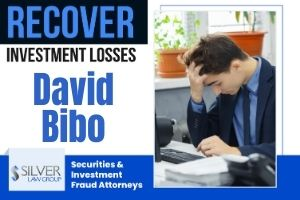 "David Bibo (David Omori Bibo CRD#: 2602436) is a registered broker currently employed with WESTERN INTERNATIONAL SECURITIES, INC. (CRD#: 39262) of San Jose, CA. He was previously employed with Myclearing.Com (CRD#:104161) and Interfirst Capital Corporation (CRD#:7659), both of Los Angeles, and Merrill Lynch, Pierce, Fenner & Smith Incorporated (CRD#:7691) of New York, NY. He has been in the industry since 1995. Bibo is the subject of two currently pending customer disputes regarding unsuitable recommendations. The first, filed on 12/18/2019, requests damages in the amount of $1,500,000. The second, filed on 9/22/2020, requests $300,000 in damages. Two previous filed on 5/15/2019 with concerns over ""reasonableness of investment"" requested $50,000 each. These claims were both denied."