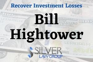 "Bill Hightower (William Andrew ""Bill"" Hightower CRD#: 2152369) is a former registered broker and investment advisor whose last known employer was Legacy Asset Securities, Inc. (CRD#:47644) of Houston, TX. His previous employers include UBS Financial Services Inc. (CRD#:8174) and RBC Dain Rauscher Inc. (CRD#:31194), also of Houston, and A. G. Edwards & Sons, Inc. (CRD#:4), of St. Louis, MO. He has been in the industry since 1991.  The Securities & Exchange Commission (SEC) found that Bill Hightower was, while employed for Legacy Asset Securities, also the CEO of Hightower Capital Group (HCG). HCG was his own private and unregistered company where he conducted business away from Legacy.  The SEC investigation found that Hightower transferred sums of money from two clients into HCG under the guise of ""investment."" On 3/14/2015, Hightower transferred $800,000 into the HCG accounts. Then on 1/14/2015, he transferred $900,000 from a second client's account into HCG. Both transfers were used to pay previous ""investors"" in HCG, as well as for personal expenses."