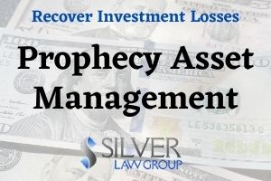 Silver Law Group is investigating potential claims arising from losses in Prophecy Asset Management, L.P. (Prophecy), an investment fund that has been the subject of recent litigation and that may have lost hundreds of millions of dollars over the past two years.  Prophecy is a New York-based investment operation owned and operated by Jeffrey Spotts. Prophecy's investment model involves conduct thorough research and selecting various sub-advisors to manage its capital.  However, two of the sub-advisors Prophecy has opted to do business with over the past several years have create cause for serious concerns among investors.  Two Funds That Invest In Prophecy Sued Prophecy In Delaware Chancery Court To Inspect Prophecy's Books and Records  In July 2020, two investment funds that invest with Prophecy filed a Complaint for Inspection of Books and Records against Prophecy and its managers in Delaware Chancery Court. Among the allegations in the lawsuit are assertions that the Plaintiff needs access to Prophecy's books and records because Prophecy cannot account for money the Plaintiffs invested in Prophecy. These allegations include: