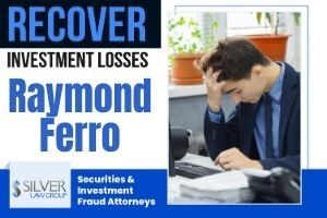 """Raymond Ferro (Raymond Anthony Ferro, Jr. CRD#: 1927831) is a former registered broker and investment advisor whose last known employer was Woodbury Financial Services, Inc. (CRD#:421) of Danbury, CT. His previous employers include Next Financial Group, Inc. (CRD#:46214) and LPL Financial Corporation (CRD#:6413), also of Danbury, CT, and Wachovia Securities, LLC (CRD#:19616) of Ossining, NY. He has been in the industry since 1997.  Ferro is the subject of six disclosures, including a 2014 tax lien of $15,205.26.  The most recent is a client dispute filed on 12/7/2020. The claimants allege that Ferro sold them unsuitable investment products, and they request damages of $600,000. This claim is pending.  The next client dispute was filed on 10/26/2020. The client alleges that she gave Ferro a total of 28 personal checks for funds that were intended to be used for """"unspecified investments."""" The client requests damages in the amount of $140,852.00, and the claim is pending."""