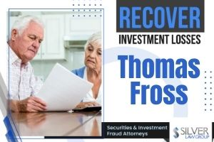 "Thomas Fross (Thomas Michael Fross CRD:# 4509874) is a registered broker and investment advisor currently employed with LPL Financial of The Villages, FL. He was previously employed with Securities America, Inc. (CRD#:10205), also of The Villages. He has been in the industry since 2002.  Fross is currently the subject of a pending dispute over the sale of a client's securities, filed on 6/10/2020. In it, the client claims that Fross failed to follow instructions in regards to ""unsuitable portfolio changes"" from 3/26/20 TO 8/21/20. The client requests damages in the amount of $119,716.05. Fross responds that he denies all allegations, that he discussed everything with the customer, and the changes were made in order to move into more conservative investments."
