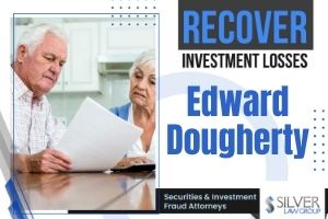 Edward Dougherty (Edward Howard Dougherty/Ted Dougherty CRD# 2753847) is a registered broker and previously registered investment adviser currently registered with Woodbury Financial Services, In. in Bayfield, Wisconsin. Woodbury Financial has recently been the subject of arbitration claims alleging the unsuitable recommendation to purchase GPB Automotive and related investments.  Edward Dougherty Disclosures  Edward Dougherty has 4 disclosures on his publicly-available FINRA BrokerCheck report, including 2 financial, 1 employment separation after allegations, and 1 customer dispute: