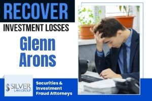 """Silver Law Group is representing investors who suffered losses after investing with Glenn Arons (CRD# 2521233). Arons was registered with Park Avenue Securities (CRD# 2521233) from 1999 until 2018, and operated out of Bethesda, Maryland office First Financial Group, LLC during that time. Arons continues to operate his own company: Assets, LLC. Glenn Arons Was Discharged From Park Avenue In 2018 According to Arons' BrokerCheck Report, published by the Financial Industry Regulatory Authority (FINRA), in November of 2018, Glenn Arons was discharged from Park Avenue securities. The allegations listed in the report state that Arons """"[v]iolated Firm's rules by (i) soliciting outside investments not approved by the firm and (ii) violating the terms of a previous internal disciplinary matter."""""""