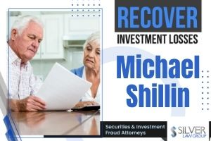 """Michael Shillin (Michael Francis Shillin CRD# 5927156) is a barred broker who was last registered with A.G.P/Alliance Global Partners in Altoona, Wisconsin. Before working for A.G.P., Shillin was registered with Raymond James Financial Services and Edward Jones.  Michael Shillin Disclosures and Wisconsin Finra Arbitration Claims  Michael Shillin is the subject of 20 disclosures on his publicly-available BrokerCheck report, which includes 15 customer disputes (all but one of which are pending), 1 regulatory disclosure, 1 investigation initiated by the FINRA Department of Enforcement, and 3 disputes regarding employment separation after allegations:  February, 2021: A customer dispute states that Shillin """"recommended an IRA rollover that caused a taxable event, and that Mr. Shillin charged management fees that were higher than the amount that had been agreed upon. Client also stated that Mr. Shillin told him that he owned pre-IPO shares of SpaceX and Palantir, although it does not appear that the client ever purchased those shares. Further, client stated that Mr. Shillin lied about creating a living trust for him."""" $5,000 in damages are requested, and the dispute is pending as of this writing."""