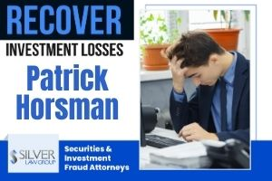 Patrick Horsman (Patrick Brian Horsman CRD# 4694883) is a previously registered broker who was registered with Blue Sand Securities LLC (CRD# 142976), based out of Bay Harbor Islands, Florida from 2007 until October 2020. Horsman was in the brokerage industry from 2003 until he left Blue Sands Securities LLC last year. Patrick Horsman's Previous Run-Ins with Securities Regulators In 2017, Horsman consented to being sanctioned by the Financial Industry Regulatory Authority (FINRA) following an enforcement action. According to FINRA's Letter of Acceptance, Waiver and Consent with Horsman (AWC), Horsman violated FINRA rules by purchasing shares in initial public offerings (IPOs) while associated with a FINRA member firm and by failing to disclose personal brokerage accounts to his firm, Blue Sand. For this misconduct, Horsman consented to a 10-day suspension from association with any FINRA member firm, a fine of $20,000, and payment of more than $10,000 in disgorgement.