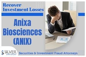 Anixa Biosciences, Inc. (ANIX) is being investigated by Silver Law Group regarding potential claims for investors in the company to recover losses. The investigation concerns potential violations of the federal securities laws.  If you have losses from investing in Anixa Biosciences (ANIX) contact Silver Law Group for a no-cost consultation at (800) 975-4345 or at ssilver@silverlaw.com.  Anixa Biosciences, Inc. is a publicly-traded biotechnology company focused on the treatment of infectious diseases as well as cancer. The company focuses on significant deficiencies in the treatment of both oncology and infectious diseases. The company is also currently working on a potential treatment for COVID-19.  One of Anixa's most important projects is the Chimeric Antigen Receptor-T cell therapy (CAR-T), also called CER-T. This therapy targets the follicle stimulating hormone receptor, or FSHR. The firm has a partnership with the Moffitt Cancer Center, as well as an alliance with the Cleveland Clinic for its advanced breast cancer vaccine technology.