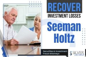 Silver Law Group has filed a lawsuit against Seeman Holtz, a Boca Raton company, on behalf of investors alleging they were sold unregistered securities amongst other allegations. Many of the investors are seniors living in south Florida who invested in Para Longevity promissory notes and other offerings. The lawsuit claims that Seeman Holtz has not paid all investors when the notes matured.  Seeman Holtz Alleged To Have Offered Unregistered Securities  Seeman Holtz, aka National Senior Insurance, is named for its co-founders Marshal Seeman and Eric Holtz, who manage and control the company. Seeman Holtz is an insurance agency, but is not licensed as a broker-dealer with the state of Florida or federal regulators.  Federal and state securities laws make it unlawful for a person to effect securities transactions or attempt to induce the purchase or sale of securities unless that person is registered to do so. State regulatory bodies require registration as well as the Financial Industry Regulatory Authority (FINRA), a regulatory arm of the Securities and Exchange Commission (SEC) in charge of licensing broker-dealers.