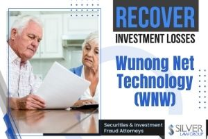 """Wunong Net Technology Company Limited, Inc. (WNW) (""""Wunong"""" or the """"Company"""") is being investigated by Silver Law Group regarding potential claims for investors in the company to recover losses. The investigation concerns potential violations of the federal securities laws.  If you have losses from investing in Wunong Net Technology Company Limited (WNW) contact Silver Law Group for a no-cost consultation at (800) 975-4345 or at ssilver@silverlaw.com.  Wunong received written notification from the NASDAQ Stock Market LLC that because the company failed to file it's annual report on Form 20F for the year ending on December 31, 2020, it was no longer in compliance with Listing Rule 5250(c)(1) for continued listing.  NASDAQ's rules give the Company 60 calendar days to submit their plan to regain compliance. Should the plan be accepted, NASDAQ will grant the company an extension of up to 180 calendar days from the filing's due date to regain compliance. In Wunong's case, this would be November 15, 2021.  The company issued a press release announcing the notification from NASDAQ on May 19, 2021. In it, the Company advised its investors that it is """"working aggressively to complete its audit,"""" submit its Form 20-F and regain compliance with NASDAQ's requirements on or before the deadline. However, after the press release, Wunong's stock price fell sharply during trading on May 20, 2021.  Just two months before, trading of Wunong's stock increased around 27% after social media talk about the company, similar to the recent increases for Gamestock and AMC Theaters on Reddit. However, this may be investors looking for a repeat of these anomalies."""