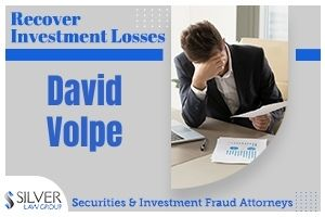 """David Volpe (David John Volpe CRD# 2543478) is a former registered broker who has previously worked for First Financial Equity Corporation, LPL Financial LLC, and National Planning Corporation, all in Scottsdale, Arizona. Volpe began his career in the securities industry in 1996. David Volpe Discharged From Firms For Improper Private Transactions & Borrowing From Customers According to Volpe's BrokerCheck Report, published by the Financial Industry Regulatory Authority (FINRA), Volpe has been discharged from two different brokerage firms: In December 2018, Volpe was discharged from LPL for an alleged """"violation of the Firm's private securities transactions policy for involvement in capital-raising efforts without prior disclosure."""" Similarly, in April 2019, Volpe was discharged from First Financial for an alleged """"failure to notify firm of private securities transaction involvement and violation of firm policy regarding borrowing funds from a client."""" Following these discharges, Volpe was investigated FINRA. According to FINRA's Letter of Acceptance, Waiver and Consent, Volpe failed to respond to FINRA's request for information and documents, resulting in """"a bar from associating with any FINRA member firm in any capacity."""""""