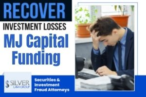 """MJ Capital Funding, a business based in Pompano Beach, FL that claimed it used investor money to make merchant cash advance loans, has been accused by the Securities and Exchange Commission (SEC) of operating as a Ponzi scheme. Silver Law Group is investigating a potential class action lawsuit to help investors recover their losses. If you are an MJ Capital investor, contact Silver Law Group at 855-755-4799. On Friday, August 13, 2021 the SEC announced in a press release that it had filed """"an emergency action and obtained a temporary restraining order, an asset freeze, and the appointment of a receiver to stop an alleged Ponzi scheme and misappropriation of investor proceeds perpetrated by Coral Springs, Florida resident Johanna M. Garcia and two entities she controls."""" MJ Capital Funding And Johanna Garcia Allegedly Raised Over $70 Million According to the SEC's complaint, Garcia and her companies, MJ Capital Funding, LLC and MJ Taxes and More, Inc., used fraudulent securities offerings to raise at lease $70 million from over 2,150 investors."""