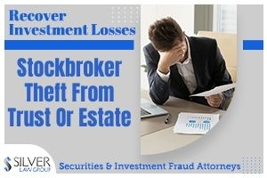 Trusts can be a significant part of your estate plan. Some investors may decide to transfer securities into a trust, or leave them as part of their estate to their beneficiaries.  Assets that are transferred into a trust is taken out of the estate for the probate process. The expectation is that the beneficiaries will later have the benefit of the investments after the original owner passes in accordance with the deceased's wishes.  Occasionally, a person will also select a stockbroker or other financial services person to serve as a trustee. A trustee and/or executor are supposed to act in the best interest of the beneficiaries. However, this isn't always the case.  The Trustee  A fund's trustee has the job of overseeing the funds in the trust, and keeping extensive records of all funds coming in and payments going out. This is in addition to preparing tax returns for the trust.