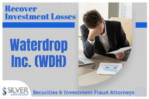 Waterdrop Inc. (WDH) is the subject of a class action lawsuit, filed on behalf of shareholders, regarding alleged violations of the federal securities laws.  If you have investment losses with Waterdrop Inc. (WDH), please contact Silver Law Group at (800) 975-4345 or at ssilver@silverlaw.com. The deadline to apply to be lead plaintiff (class representative) is November 15, 2021.  Waterdrop is a Chinese company founded in 2016 that operates medical crowdfunding platforms and provides online insurance brokerage services. The company is backed by Chinese tech conglomerate Tencent, which is a minority owner.  Waterdrop IPO  Waterdrop held its initial public offering (IPO) in May, 2021 selling 30 million shares at $12 per share. Representatives for the underwriters were Goldman Sachs (Asia), Morgan Stanley, and BofA Securities.  On June 17, 2021, Waterdrop reported financial results for the quarter closed before the IPO that stated that the company's operating costs and expenses had increased to $205.1 million and that the company had an operating loss for the quarter of $70.3 million, which was four times higher than the same quarter the prior year.