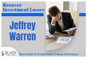Jeffrey Warren (CRD:#2707969) is a former registered broker whose last known employer was Oppenheimer & Co. Inc. (CRD#:249) of Boca Raton, FL. He was previously employed with Wachovia Securities, LLC (CRD#:19616), also of Boca Raton, UBS Financial Services Inc. (CRD#:8174) of Weehawken, NJ, and Prudential Securities Incorporated (CRD#:7471) of New York, NY. Warren has been in the industry since 1996.  On February 10, 2021, a customer filed a dispute with requested damages of $125,000. The customer alleged that in January of 2021, Warren deposited a check from a deceased client's trust without the approval of the trust's beneficiaries. The customer was also a beneficiary of said trust. The firm denied the client's claim.
