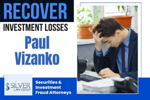 Paul Vizanko (Paul Warren Vizanko CRD:#2572222) is a former broker and investment advisor last employed with Wells Fargo Clearing Services, LLC (CRD#:19616) of Duluth, MN. He was previously employed with Merrill Lynch, Pierce, Fenner & Smith Incorporated (CRD#:7691), also of Duluth, MN, Wells Fargo Investments, LLC (CRD#:10582) of Grand Rapids, MN, and Miller Johnson Steichen Kinnard, Inc. (CRD#:694) He has been in the industry since 1995.  Wells Fargo discharged Vizanko on 1/26/2021 after he borrowed money from a client. Additionally, Vizanko received a cash gift from a different client, and was also named a beneficiary of the second client's trust. Vizanko failed to notify the firm of these funds, then misappropriated those funds.  After FINRA requested information related to his termination, Vizanko failed to respond to two letters dated May 26, 2021 and June 21, 2021. FINRA issued a suspension from any association with a FINRA member, which Vizanko failed to address by requesting within three months of the date. As of August 30, 2021, Vizanko is indefinitely barred from any affiliation with a FINRA member. This ruling is final.  On August 12, 2021, a customer filed a dispute alleging that from September 23, 2015 through December 22, 2020, Vizanko cashed checks that were made out to him but intended for the client. No damage amount is listed, and no other information is available. This claim is pending.
